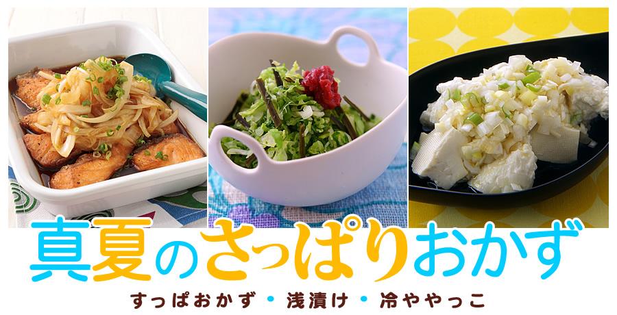 夏のさっぱりレシピ 簡単あっさり料理特集!【オレンジページnet】プロ ...