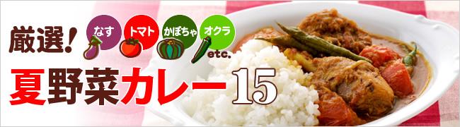 夏野菜カレー15 トマト・なす・かぼちゃ・